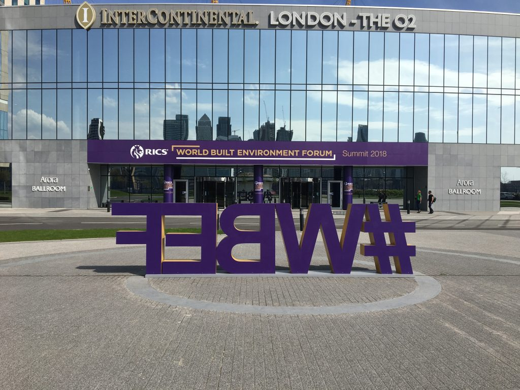 WBEF Letter Plinth and Hotel Front Graphic Wrap