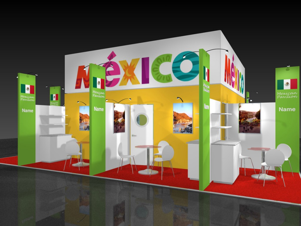 Design Your Exhibition Stand : Meridian exhibition contractors we design and build